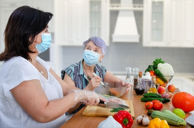Kitchen Safety Tips For Entertaining At Home During COVID